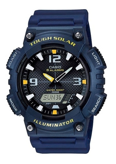 Relógio Casio Tough Solar Azul Masculino Aq-s810w-2avdf
