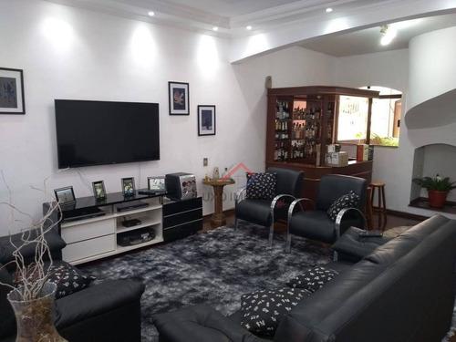 Sobrado Com 3 Dormitórios (1 Suíte) À Venda, 376 M² Por R$ 750.000 - Vila Bocaina - Mauá/sp - So0029