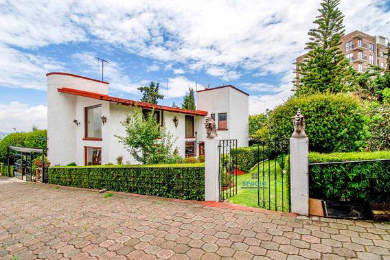 Renta Casa En Cuajimalpa Con Jardín