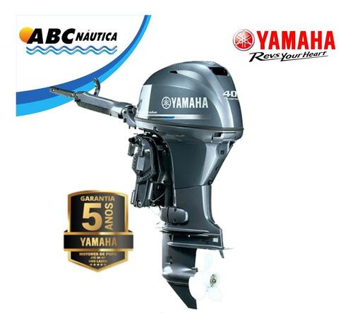 Motor De Popa Yamaha 40hp 4t