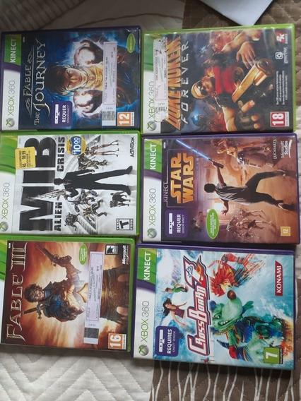6 Jogos Xbox 360