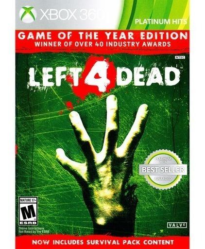Jogo Left 4 Dead 1 Goty - Xbox 360 - Novo - Mídia Física
