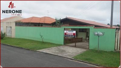 Casa A Venda No Bairro Jardim Itália Em Campo Largo - Pr. - 372-1