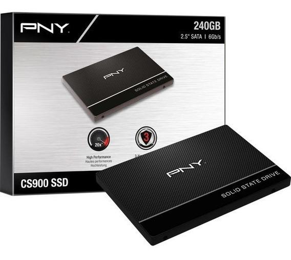 Disco Duro Solido Ssd Pny Laptop Pc 240gb Alto Desempeño /v
