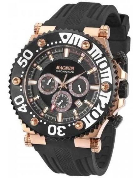 Relógio Magnum Masculino Cronógrafo Ma32121p