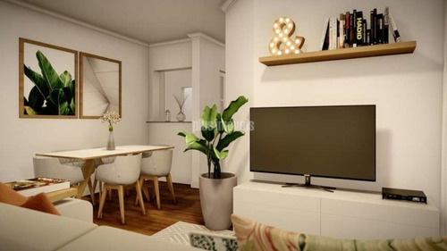 Apartamento Com 3 Quartos E 2 Banheiros À Venda, 63 M²  - Mi128569