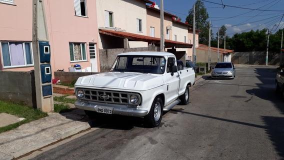 Chevrolet Camionete Modelo A10 Raridade Ano 1982