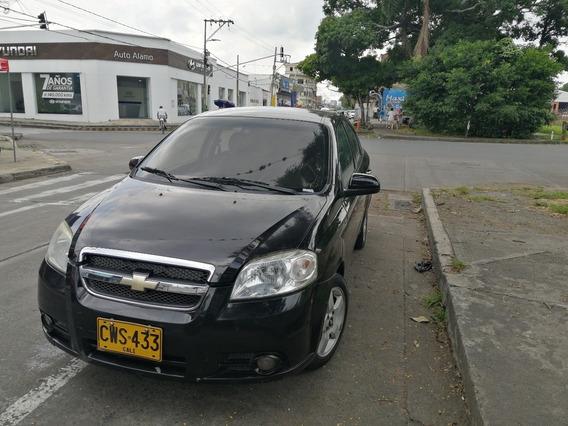 Aveo Emotion 1.600 C.c. Sedan Negro Titan 2010