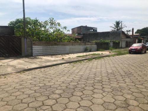 Lote Bem Localizado Lado Praia Em Itanhaém/sp Escriturado