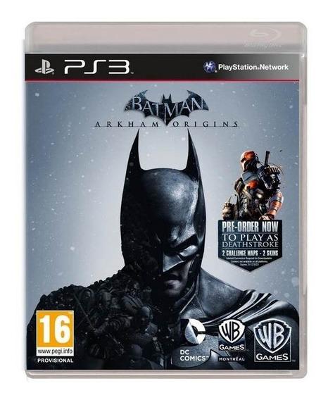 Jogo Batman Arkham Origins Dub Português Ps3 Frete Grátis!