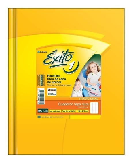 Cuaderno Exito Tapa Dura P/ Forrar 100 Hojas N1 X5 Unidades