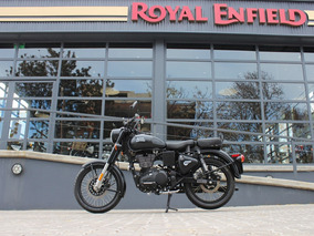 Royal Enfield Classic 500 0 Km Negra Stealth Black Inyección