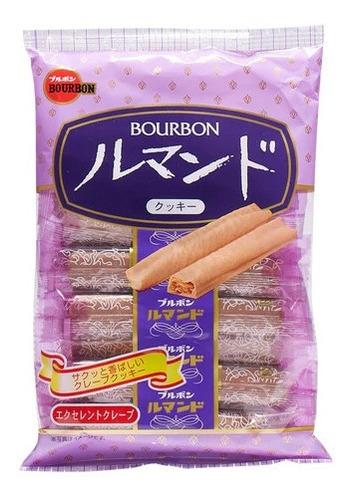 Imagen 1 de 7 de Bourbon Lumonde Galleta De Chocolate Japonesa Crujiente