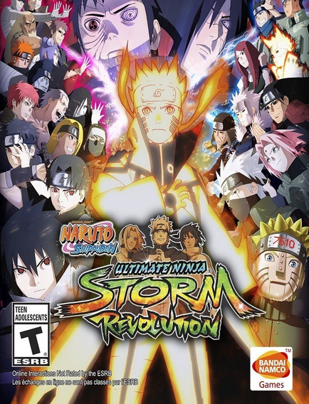 Naruto Shippuden Ninja Storm Revolution Pc - Steam Key (envio Flash)