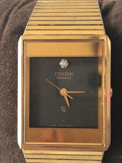 Reloj Citizen Vintage 80s Color Dorado