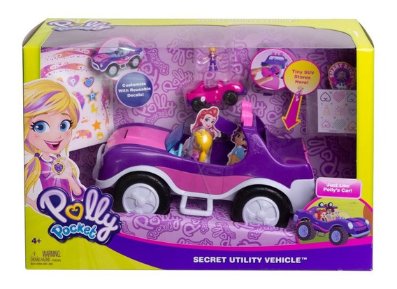 Polly Pocket, Coche Convertible Secreto