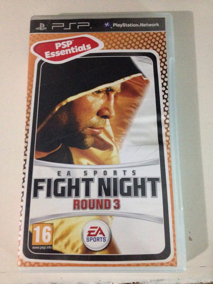 Psp Playstation Fight Night Round 3 Boxing Completo R$88,95