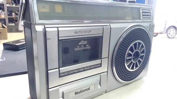 Rádio Portátil Am/fm Tape Deck International, Antigo Coleção