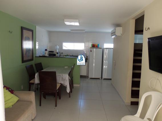 Amanari Chalés - Venda De Casa Triplex Na Praia De Pirangi Do Norte, Com Solarium, 3 Quartos, Sendo 2 Suítes, Em Condomínio Fechado - Ca00048 - 4006846