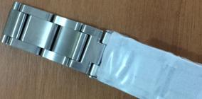 Pulseira De Aço Escovado Original Para Relógio Nixon 51-30
