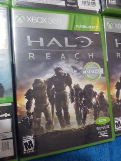 Halo Reach Nuevo, Xbox 360,disco Fisico.