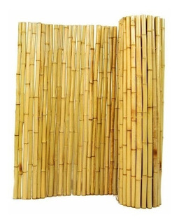 Cerco De Cañas Bambu Pergola Tacuara 100x180 Cm Deco