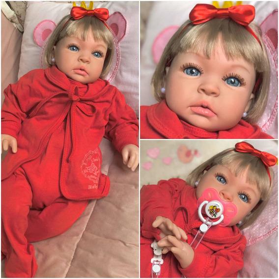 Bebê Reborn Linda Siliconad Menina Bebê Promoção Barata