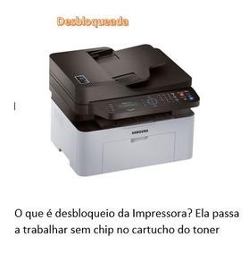 Impressora Sansung Sl-m2070fw (desbloqueada) Trab. S/ Chip