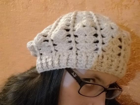 Liquido Boinas Tejidas Al Crochet