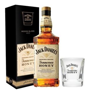 Dia Del Amigo Whiskey Jack Daniels Honey +1 Vaso C/estuche