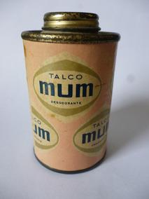 Mini Talco Mum - Raridade - Vazio