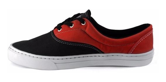 Tênis Sneakers Vermelho Unisex Rocker Red Skate Rock