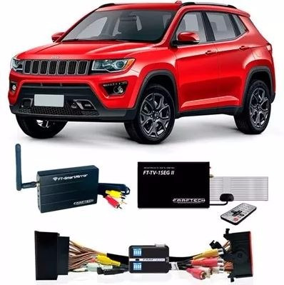 Desbloqueio Tela Jeep Compass + Tv 1seg + Espelhamento