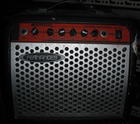 Caixa Amplificada Fernandes Fs10 Para Guitarra, Violão...