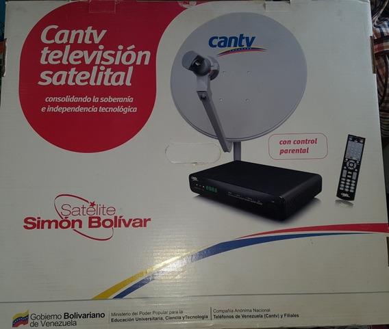 Kit De Antena De Tv Por Señal Satelital Cantv