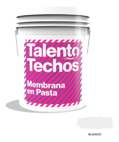 Imagen 1 de 10 de Membrana Techos Alto Transito X4 Litros Blanca Resistente