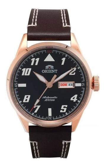 Relógio Orient Masculino Ref: 469rp001 P2mb Automático Rosé