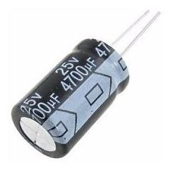 Imagem 1 de 1 de Capacitor Eletrolítico 4700 Uf X 25v - 85º