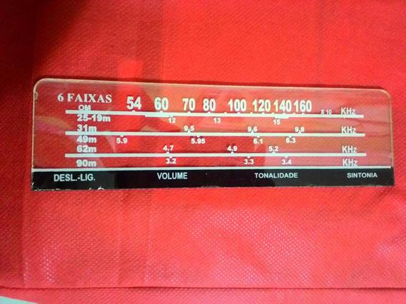 Dial Para O Rádio De Cabeceira Motorádio - 6 Faixas