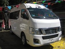Nissan Urvan 12 Pasajeros Blanca 2014