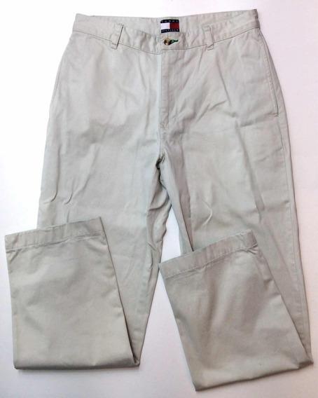 Pantalón Tommy Hilfiger De Vestir Blanco Usa Talle 30