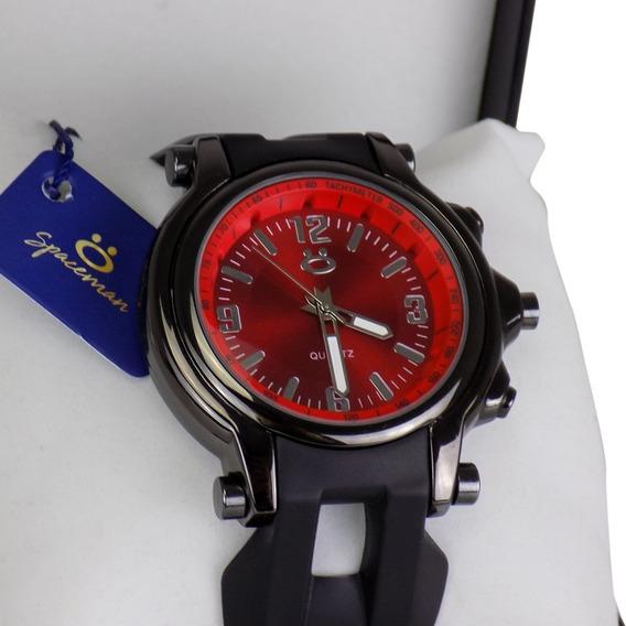 Relógio Masculino Original Carre Borracha Lindo Na Promoção