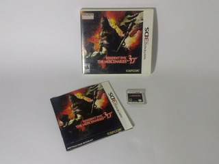 Resident Evil The Mercenaries 3d Nintendo 3ds Jogo Original