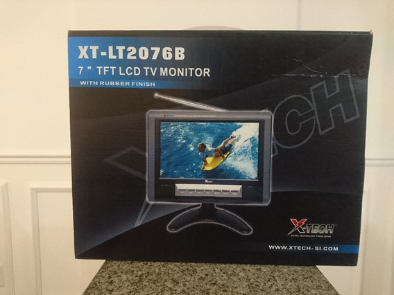 Monitor E Tv Lcd 7 Com Conversor Digital