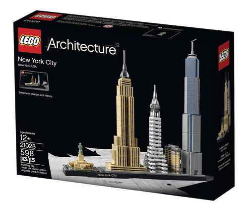 Lego Architecture Ciudad De Nueva York