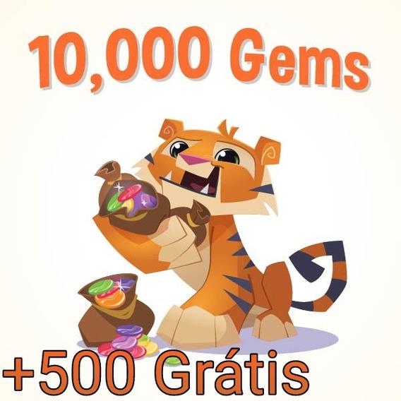 10mil Gemas Animal Jam Android (+500 Grátis) Envio Imediato