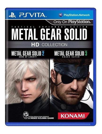 Game Metal Gear Solid Hd Collection Ps Vita Novo Lacrado