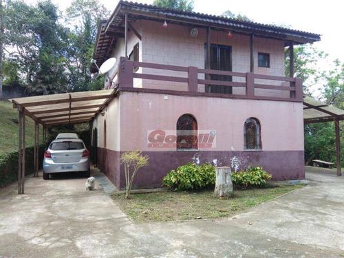 Chácara Com 3 Dormitórios À Venda, 2000 M² Por R$ 600.000,00 - Jardim São Jorge - Arujá/sp - Ch0060