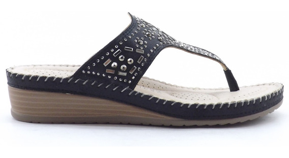 Sandalias Ojotas Mujer Acolchadas Comodas Promocion Camila