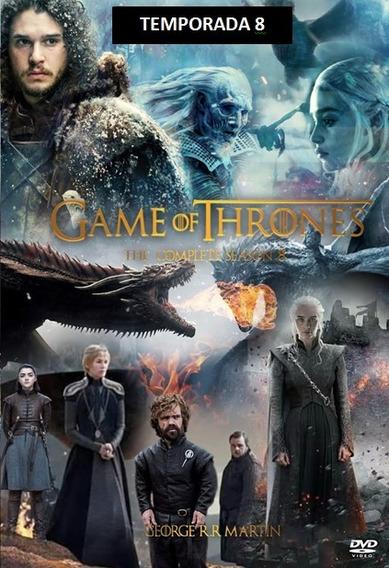 Game Of Trhones 8 Oitava Temporada Completa E Dublada